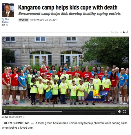 baltimore md camp kangaroo NBC WBAL 11