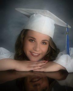 Alexa Graduation portriat